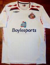 Umbro SUNDERLAND 2007/08 Away L Soccer Jersey Football Shirt England