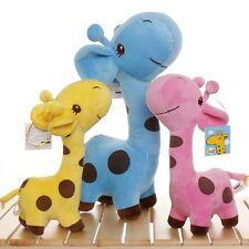 Girafe peluche souple petit bébé qualité animaux empaillés poupée mignonne