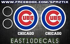 Chicago Cubs Cornhole Decal 6 pc Set baseball sticker package