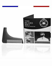 ►► PEIGNE A BARBE PARFAITE Professionnel Barbier Homme Contour + Box + Suivi