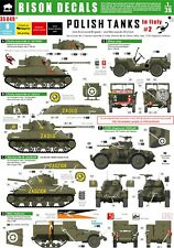 Bison Decals 1/35 Polish Tanks in Italy #2 35049