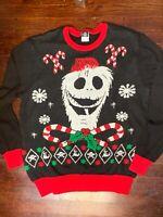 Disney Tim Burton's Nightmare Before Christmas Sweater Junior's XL/Women's Small