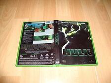 HULK EDICION ESPECIAL EN DVD CON DOS DISCOS DEL AÑO 2001 EN MUY BUEN ESTADO