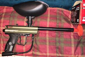 Spyder Paintball Gun NEW! Never used! New Co2 Canister & Paintballs!