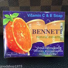 BENNETT Soap Vit C E Natural Extract Anti-Aging Acne Skin Whitening Free Shippin