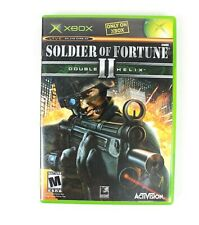 Soldier Of Fortune II Double Helix Microsoft Xbox Game Complete Free Shipping