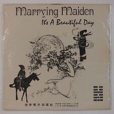 IT'S A BEAUTIFUL DAY: Marrying Maiden TAIWAN Import Rare Alt Cover B&W Vinyl LP