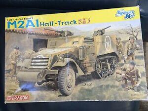 Dragon 1/35 M2A1 Half track smart kit 2in1