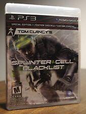 (NEW) PS3 Tom Clancy's Splinter Cell: Blacklist (Special Edition)