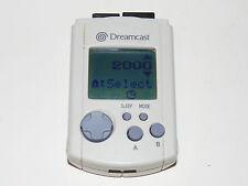 OFFICIAL OEM WHITE VMU LCD MEMORY CARD Sega Dreamcast System