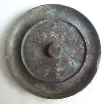 China, Yuan Dynasty small bronze mirror with nice patina