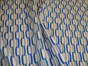 "One yd HBF LINKAGE Royal SUNBRELLA Acrylic FABRIC UPHOLSTERY 54"" x 36"" BTY"