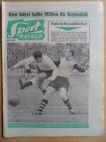 SPORT MAGAZIN KICKER 6A - 1.2. 1960 * Fürth-Bayern 3:5 1860-1.FC Nürnberg 2:0