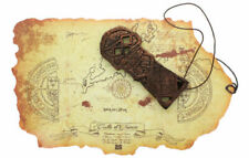 """Goonies Treasure Map & One Eye Willie Copperbones 6"""" Skeleton Key Set Replica"""