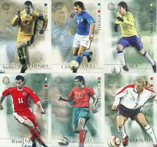FUTERA UNIQUE 2004 NEW WORLD FOOTBALL CARDS PICK UR PLAYERS & ROOKIES