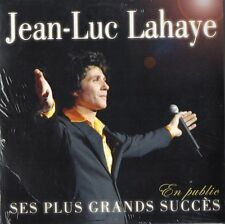 "CD NEUF ""JEAN-LUC LAHAYE - SES PLUS GRANDS SUCCES EN PUBLIC"" 2004 Olympia"