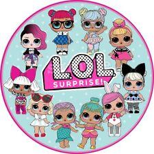 Lol Doll Puppe Essbar Tortenaufleger NEU Party Deko Geburtstag Tortenbild dvd