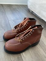 $248 Red Wing 8249 Oil Resistant Moc Toe Work Steel Toe Safety Boots Men Size 10