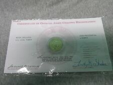 2008 JAMES MONROE PRESIDENTIAL  COIN DOLLAR WITH CERTIFICATE
