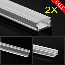 Aluminium Channel Alloy Profile Bar Diffuser Track for LED Strip Lights Cab 2x1M