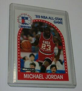 1990 HOOPS BASKETBALL #21 MICHAEL JORDAN Nice 4 Sharp Corners!
