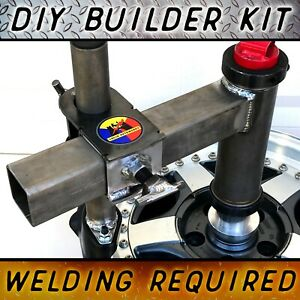 DIY Ultimate Manual Tire Changer Modified Upgrade Attachment Duck Head Mount