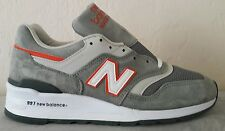 New Balance 997 Age of Exploration Made in USA Gray Orange M997CHT Size 9 D