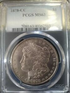 1878 cc morgan dollar ms63