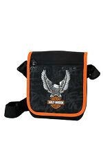 Exclusiv*Harley Davidson Schultertasche Umhängetasche Motor Tasche 21cm EDEL