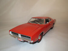 "Ertl/American Muscle  Dodge  Charger  R/T  ""1969""  (orange-rot) 1:18  ohne Vp.!"