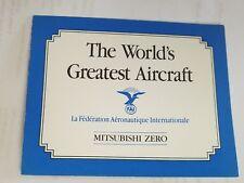 Franklin Mint Mitsubishi Zero The Worlds Greatest Aircraft Original Coa