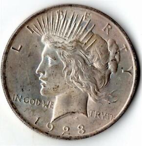 1923 'Peace' Dollar - USA Philadelphia Mint - 0.900 Silver