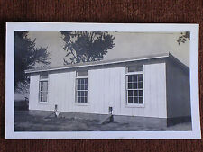 Modern Chicken Coop with 3 Windows & 2 Entrances on Hokah MN Farm/1930s Snapshot