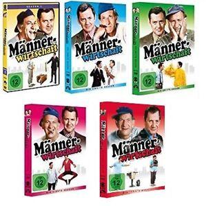 18 DVDs * MÄNNERWIRTSCHAFT - SEASON / STAFFEL 1 - 5 IM SET - MB # NEU OVP +