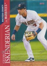 2016 Brevard County Manatees George Iskenderian RC Rookie Brewers