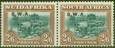 More details for s.w.a 1927 2s6d green & brown sg65 v.f very lightly mtd mint