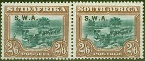 S.W.A 1927 2s6d Green & Brown SG65 V.F Very Lightly Mtd Mint