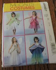 McCALL'S COSTUMES. GIRLS FAIRY COSTUME..... SIZE CL (6-7-8)  #M4887  NEW, UNCUT.