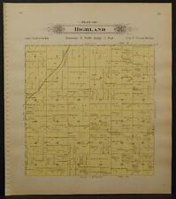 Nebraska, Lancaster County Map, 1903, Township of Highland, L1#41