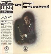 BUDDY TATE – Jumpin' On The West Coast! (1972 JAZZ VINYL LP DUTCH REISSUE)