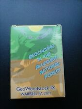Geowoodstock 9 Custom Designed Deck of Playing Cards by Geocachers