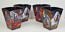 Ant Man and The Wasp Set of 4 Plastic Popcorn Containers by Marvel Studios NEW
