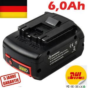 6,0Ah Akku Ersatzakku für Bosch BAT618 BAT609 BAT620 BAT622 GSR GSB GBA 18 Volt