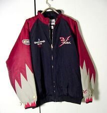 Chase Authentics Dale Earnhardt Nylon Nascar Racing Red Black Jacket Sz 2XL /3XL