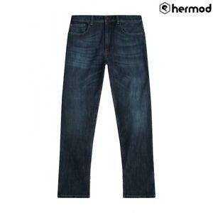 Belstaff Long Way Up Charley Single Layer Dyneema Motorcycle Jeans - Blue