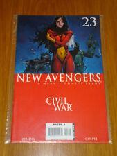 NEW AVENGERS #23 MARVEL COMIC NEAR MINT CIVIL WAR OCTOBER 2006