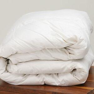 Kensingtons® 13.5 Tog 100% Siberian Goose Down Duvet Cotton Cover King Bed