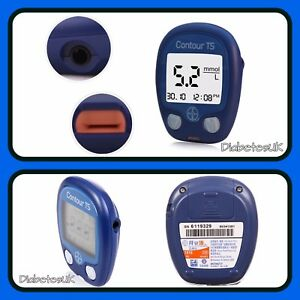 Contour TS Blood Glucose Monitor/Meter - Single Unit Meter - mg/dl - RRP £89.99