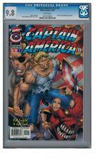 Captain America #v2 #2 (1996) Marvel Comics CGC 9.8 White Pages ZZ277