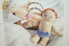 Rag Doll, Baby Dolls Sewing Pattern (SP02)